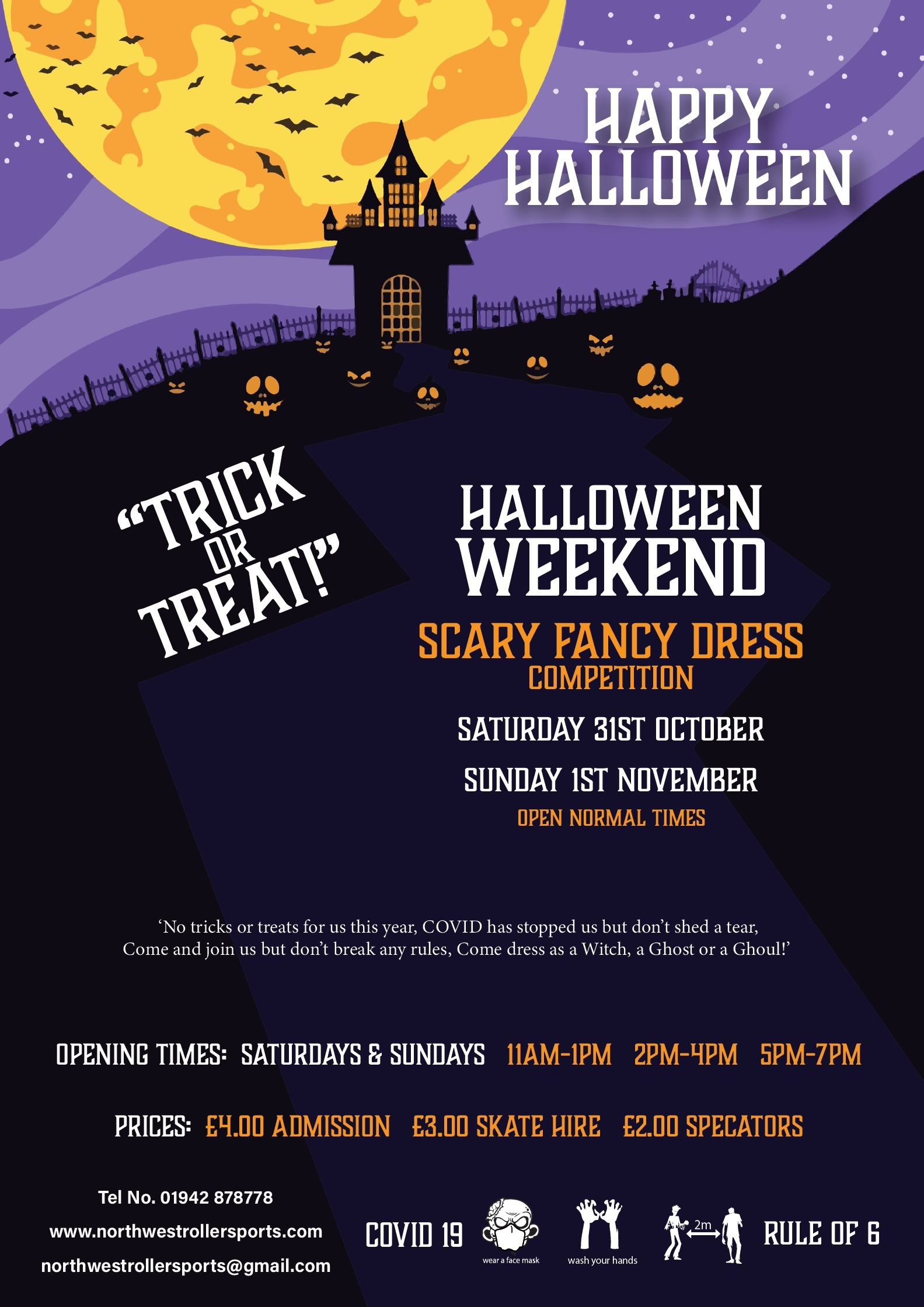 Halloween at North West Roller Sports